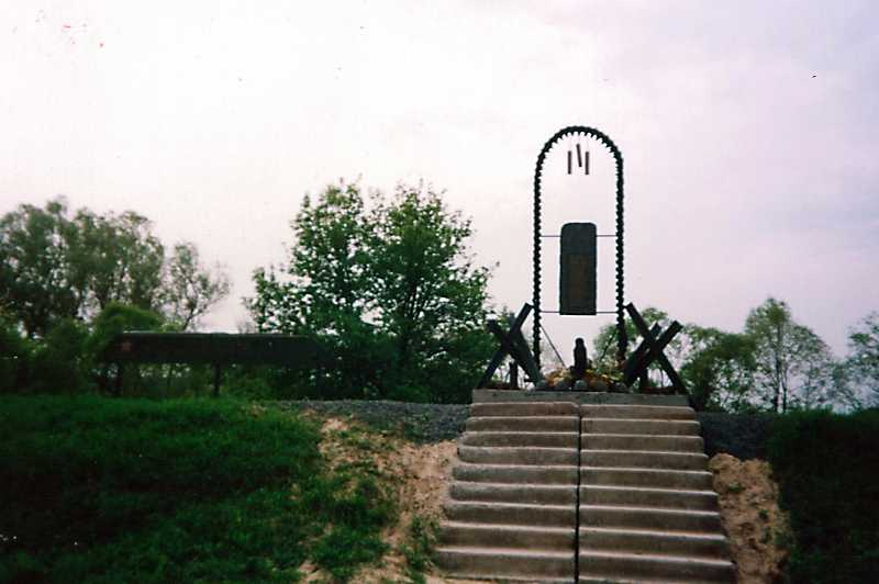 76. The monument of a soldiers killed…