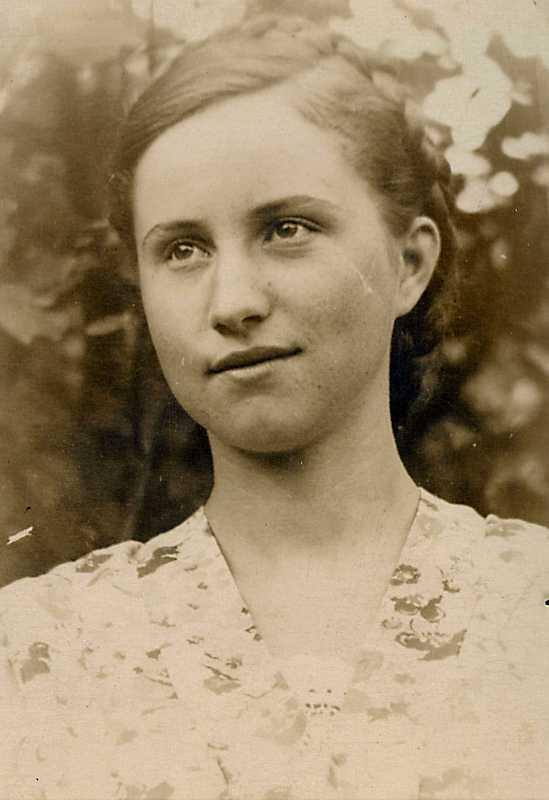 78. Юная поэтесса Лимана Вера Мороз