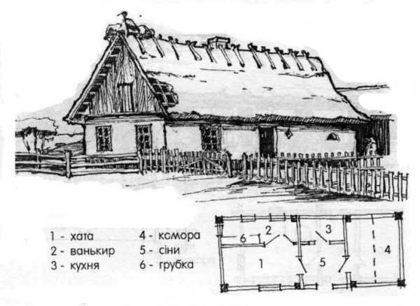 Хата у селі Кам'янка.