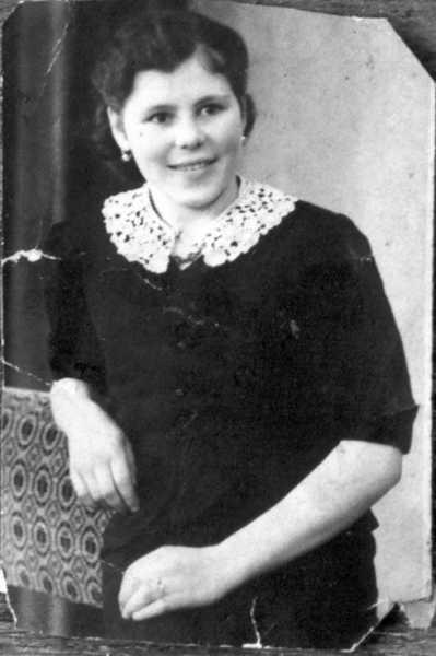 Марія Савлук. 7 листопада 1944 року.