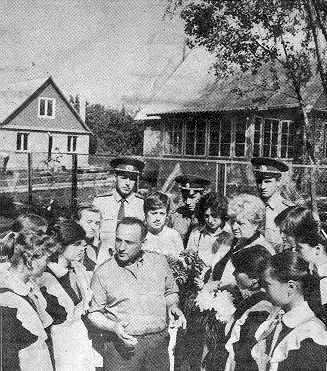 Сім'я Кибенків у колі піонерів Боярки…