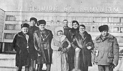 Московські письменники на Чорнобильській АЕС