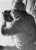 Режисер В.Шевченко під час зйомок фільму
