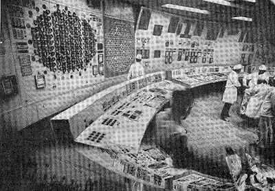 Блочный щит управления № 3 Курской АЭС