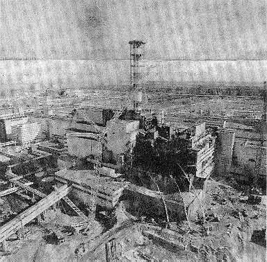 Панорама ЧАЭС