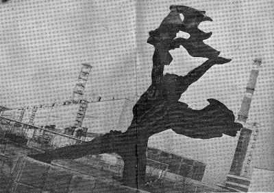 Памятник Прометею. Фото С.Буковского